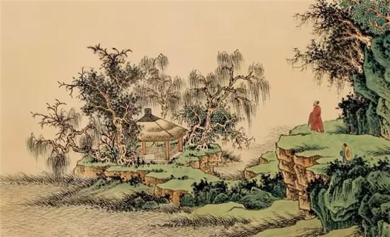 中国古代乡村风景